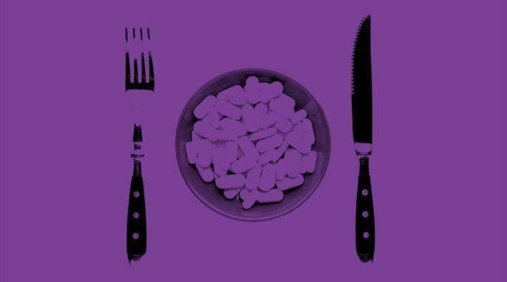 Plato de tomar probióticos Banner cuando tomar probióticos